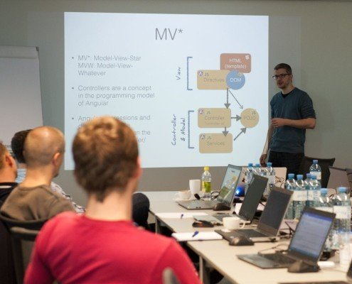 JavaScript Training mit Jonas Bandi