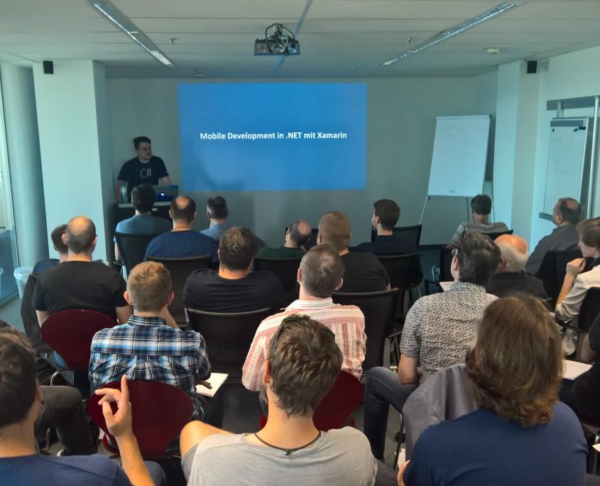 Xamarin MeetUp bei TechTalk