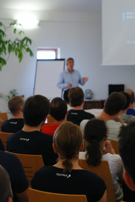 Teamevent Vortrag Andreas