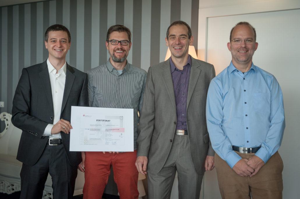 Das ISO Team bei TechTalk