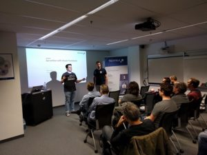 Andreas Willich and Raoul Holzer talking about Serverless with Azure Functions