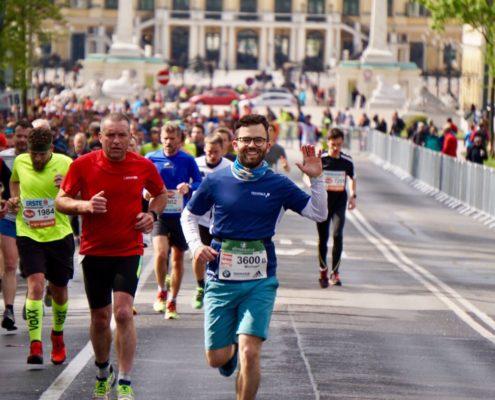 VCM 2017 - Michi läuft vor Schönbrunn