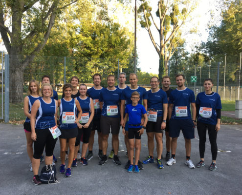 TechTalk Team beim Business Run